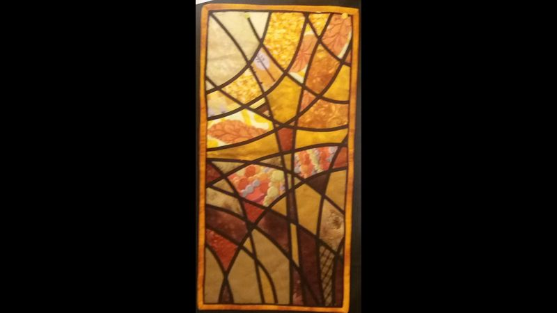 Simple Stained Glass.  Patchwork and Quilting Workshop in Watford