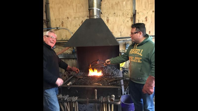 Have a go at blacksmithing
