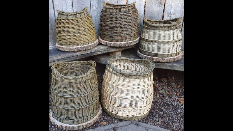 Kindling basket making course