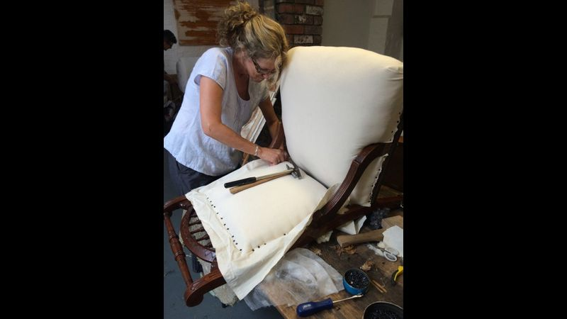 Upholstery Weekend at Rogues Atelier, York