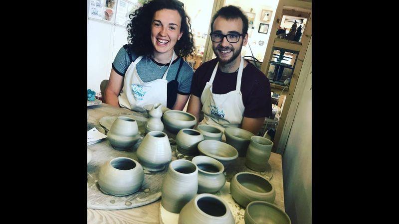 Pottery throwdown