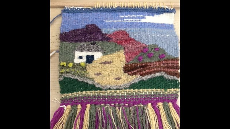 Tap Into Tapestry- Student work Landscape Tapestry