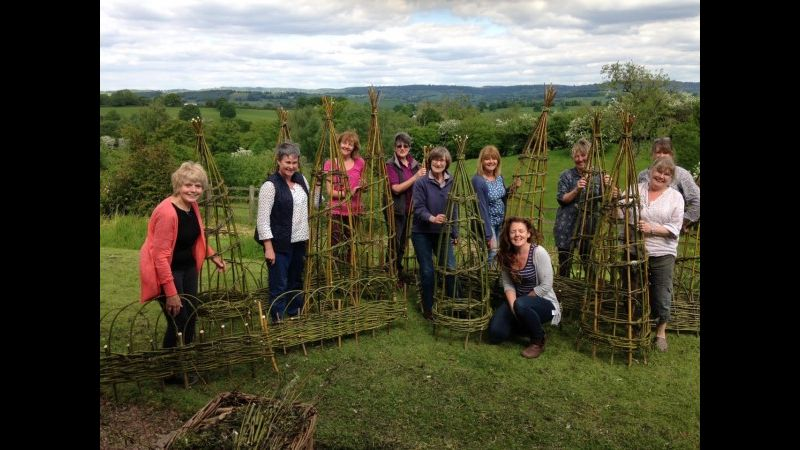 Grosmont gardening club happy with their new structures!