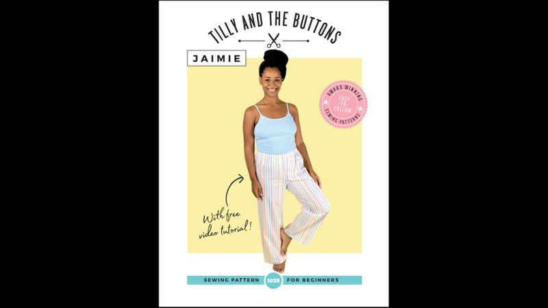 Tilly and the Buttons Jamie PJ pattern