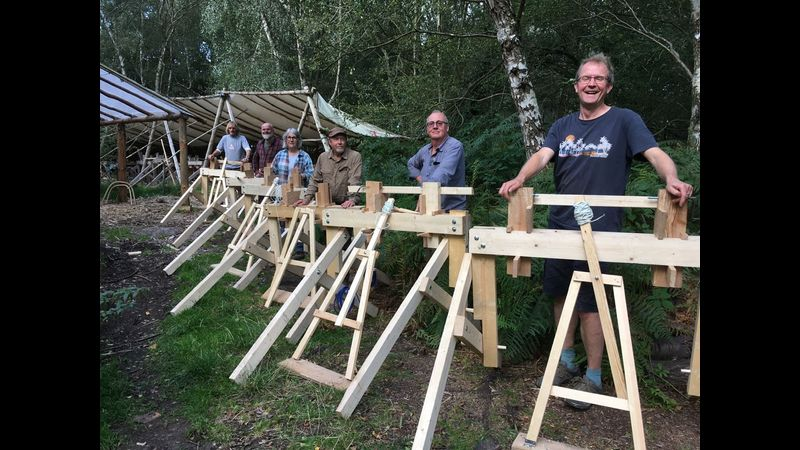 Build your own pole lathe at Greenwood Days