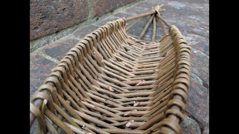 The traditional skill of willow weaving