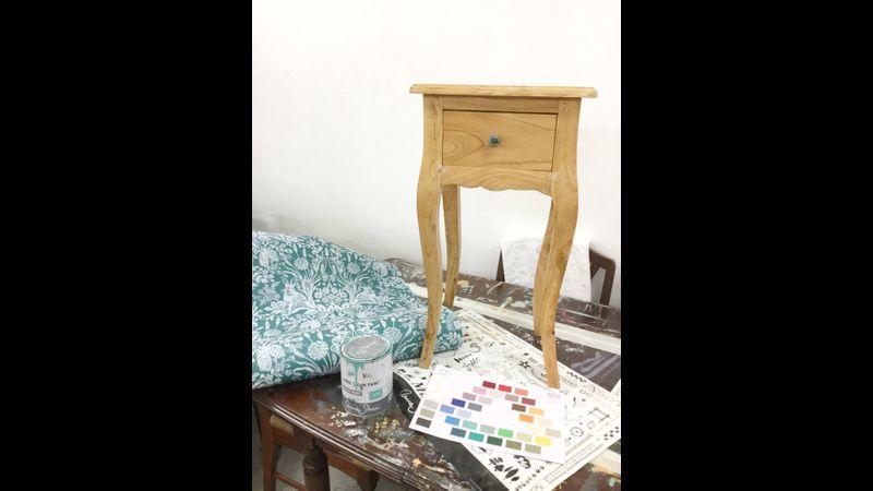 Start of the workshop - unpainted piece