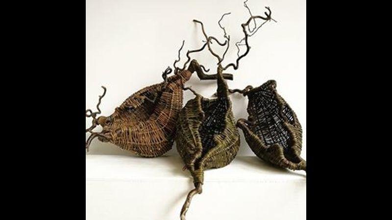 3 Art Frame Baskets