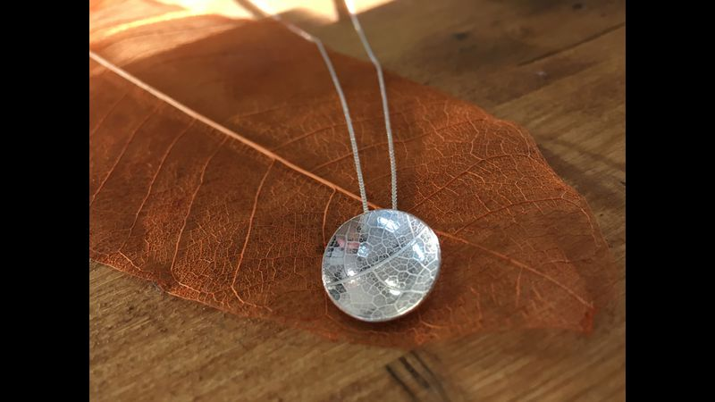 Make your own Silver Pendant, Jewellery Making, Frensham Old Barn Workshop