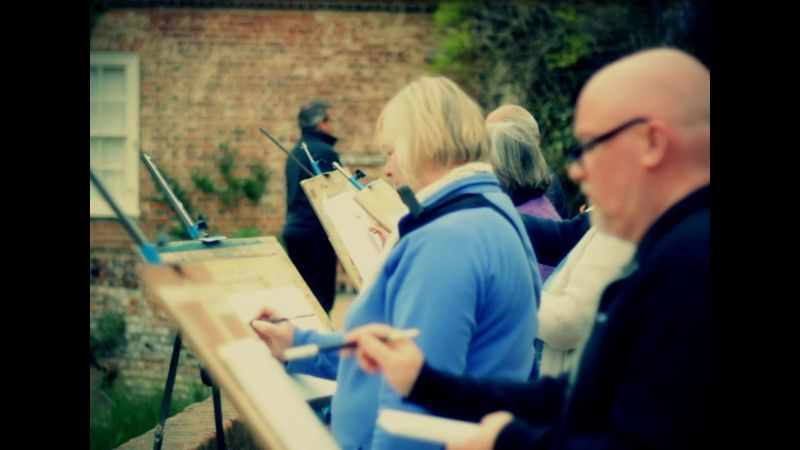 Introduction to watercolour landscapes in Epping Forest