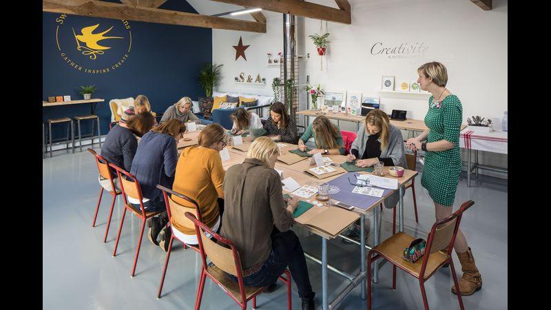 Swallows & Artisans workshop, Coniston, Lake District