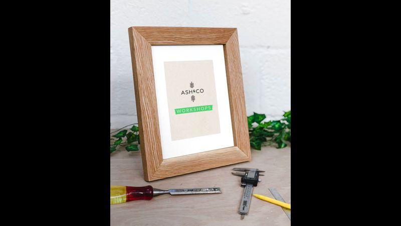 """Make an 8x10"""" oak picture frame"""