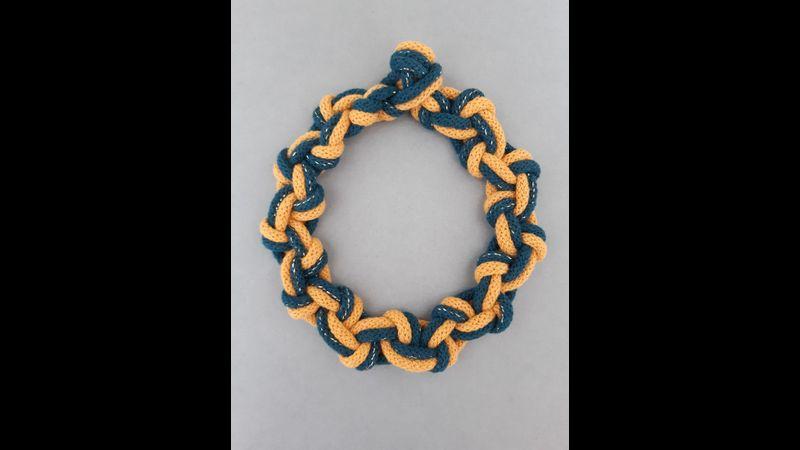 Macrame Knot Two Colour Necklace Online Workshop