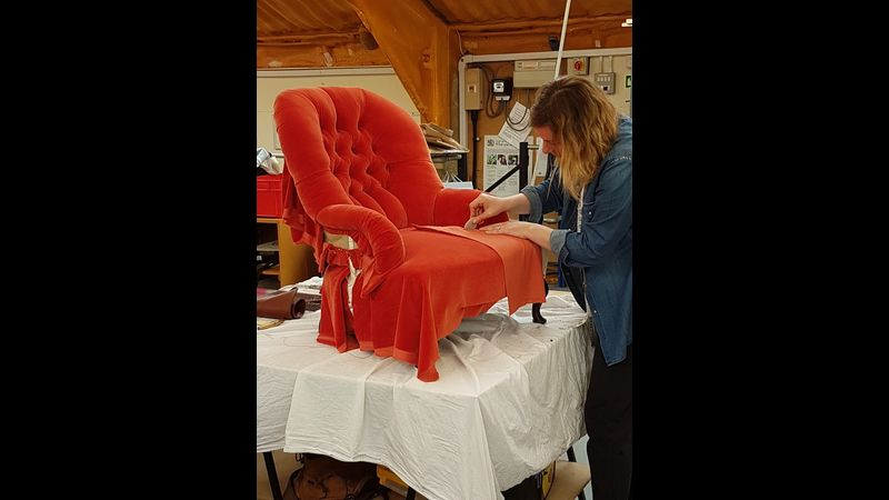 Upholstery leisure classes