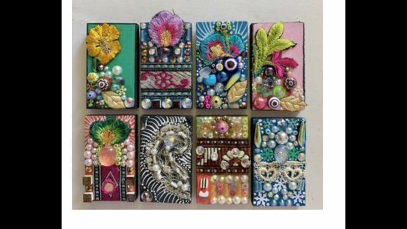Fabric mosaic