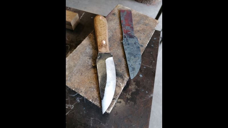 Shropshire knife making course