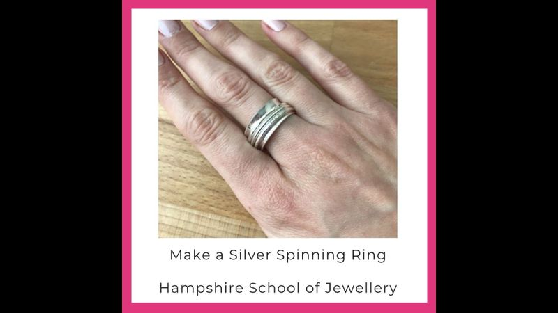 Make a Silver Spinning Ring with Hampshire School of Jewellery
