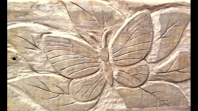 Wood Carving... Relief & Sculpture in Hardwood with Alister Neville at Greystoke