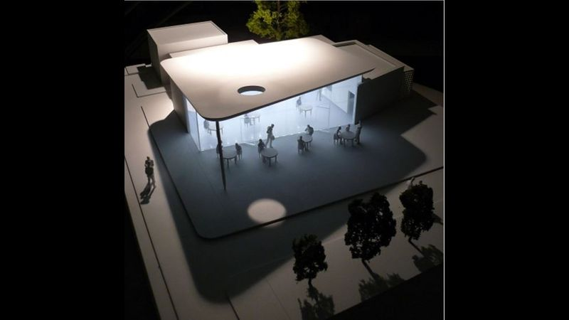 Work by NTU student in architectural model making