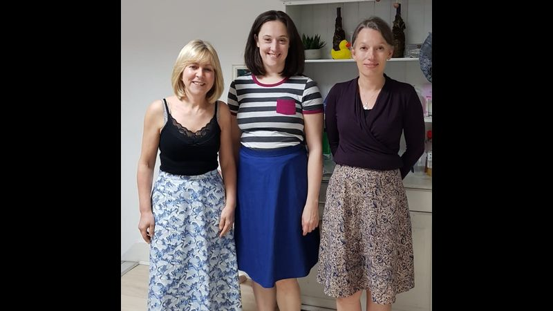Beginner's dressmaking course - make a skirt with Craft My Day