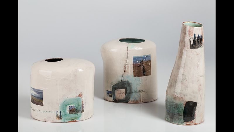 Fiona's handbuilt vessels