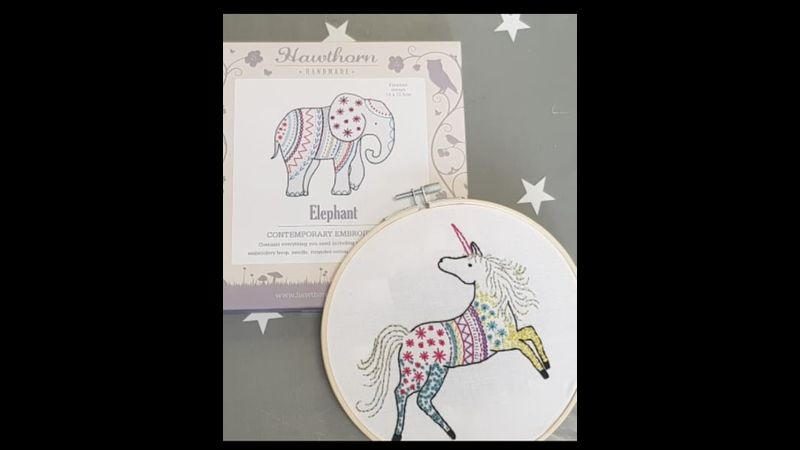 Learn the therapeutic art of hand embroidery with Craft My Day