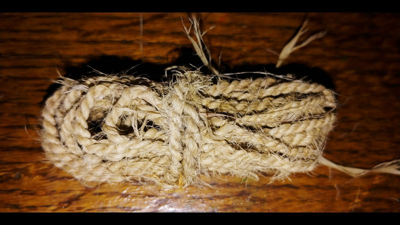 raw lime cordage