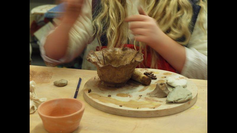 Getting hands on with clay Geraldine Francis Ceramics, Market Lavington