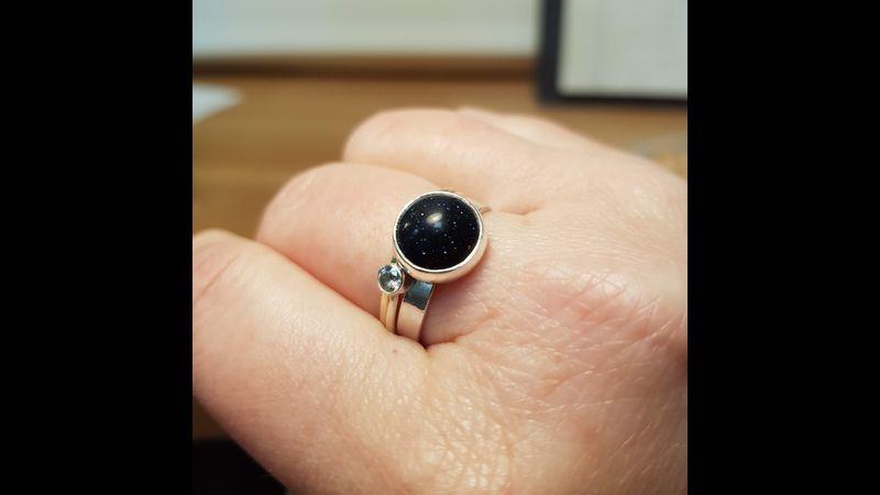 Bezel set ring workshop