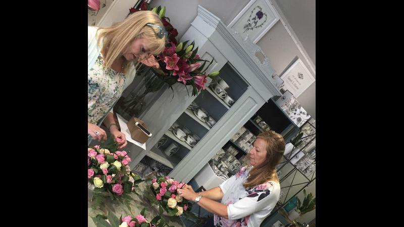 Warwickshire Evening Class Flower Arranging