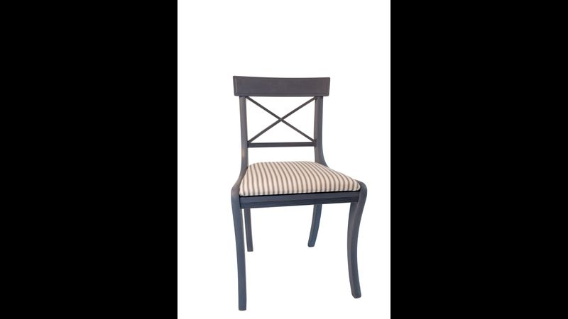 Upcycled chair by La Di Da Interiors