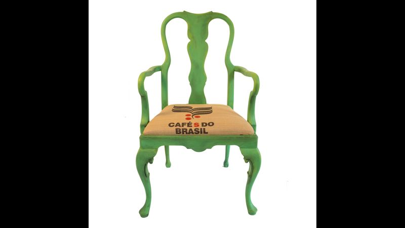 Upcycled Vintage Chair by La Di Da Interiors
