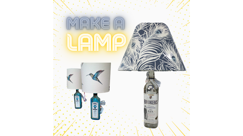 Make a Table Lamp with Lechlade Craft Barn