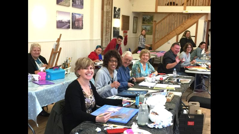 Happy Artists - Workshops with Deana Kim Page across 5 counties!