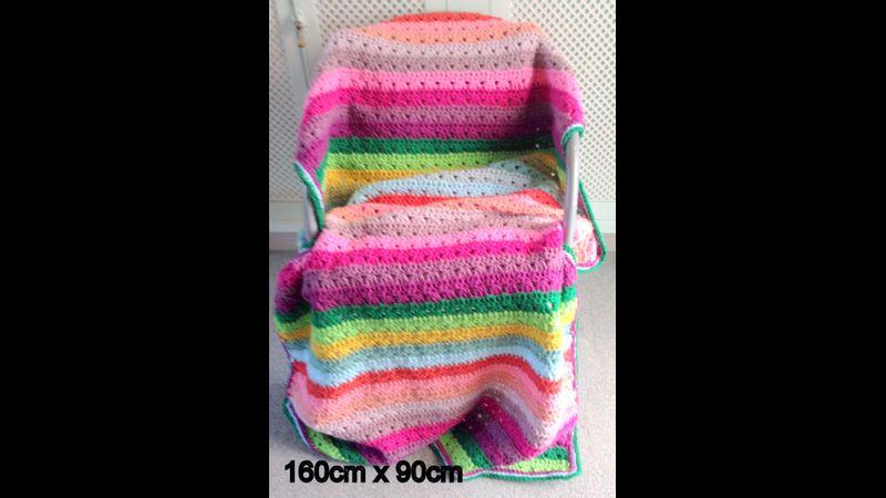 Use your stash yarn to make this!