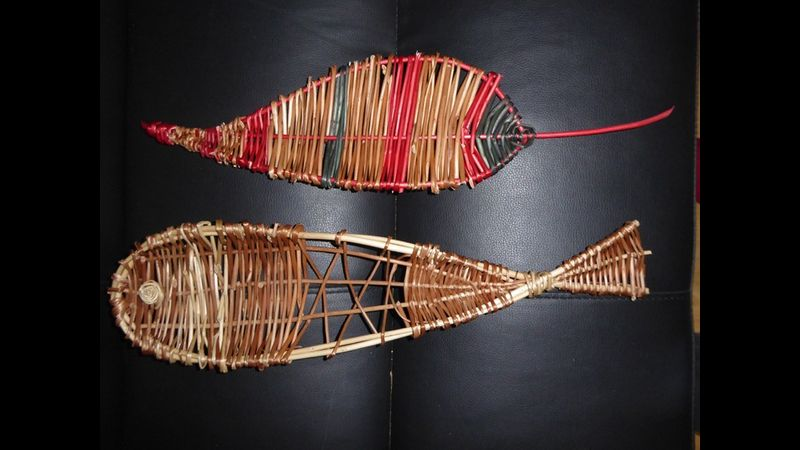 Willow fish and leaf