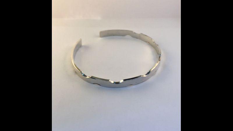 Scalloped bracelet
