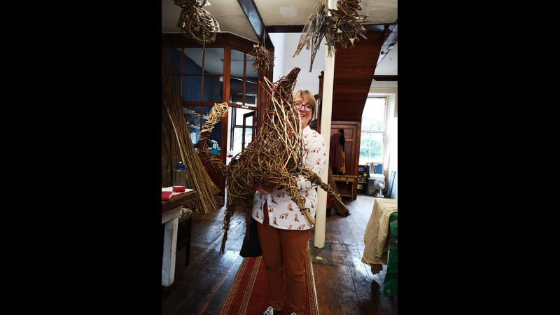 proud student with her willow fox