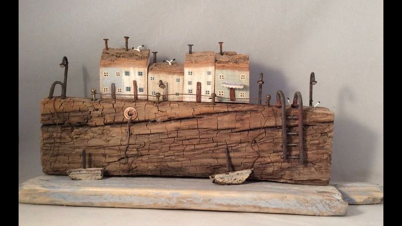 Old Rustic Harbour- Michelle Clements-Davies