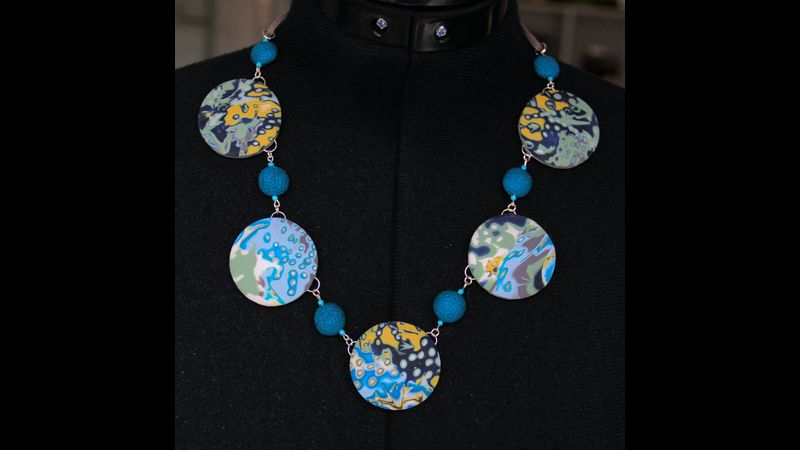 Make a statement necklace at West Country Creative