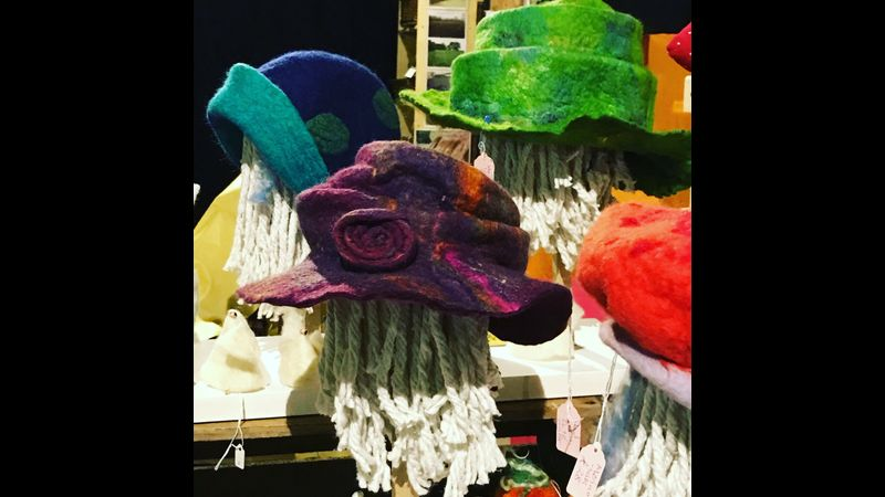 Sample of hats