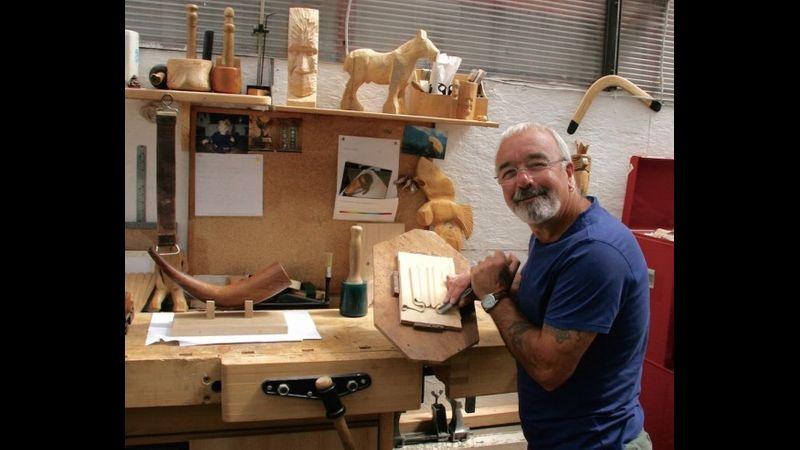 John in the workshop