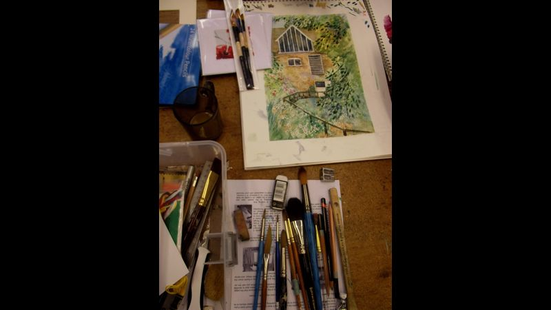 Developing your own sketchbook at Flatford Mill