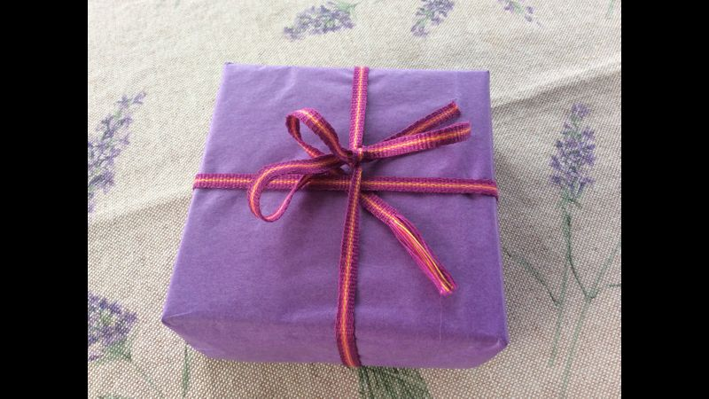 Handwoven Ribbon for a special present