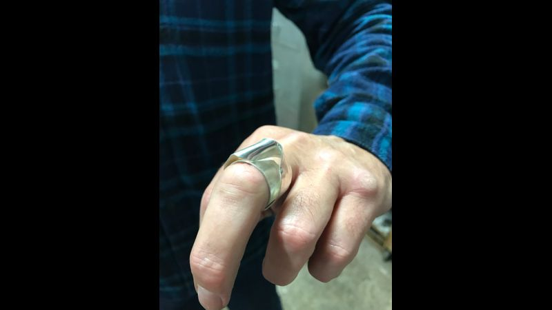 Students' crimped ring