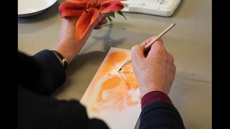 Contemporary watercolour at the Mary Ward Centre