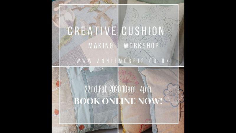Creative Cushion Making Workshop