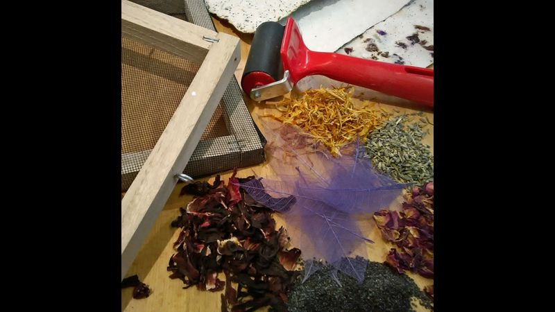 Paper making tools and a few inclusions