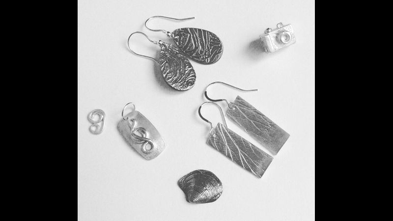 Silver clay jewellery- made by a beiggner