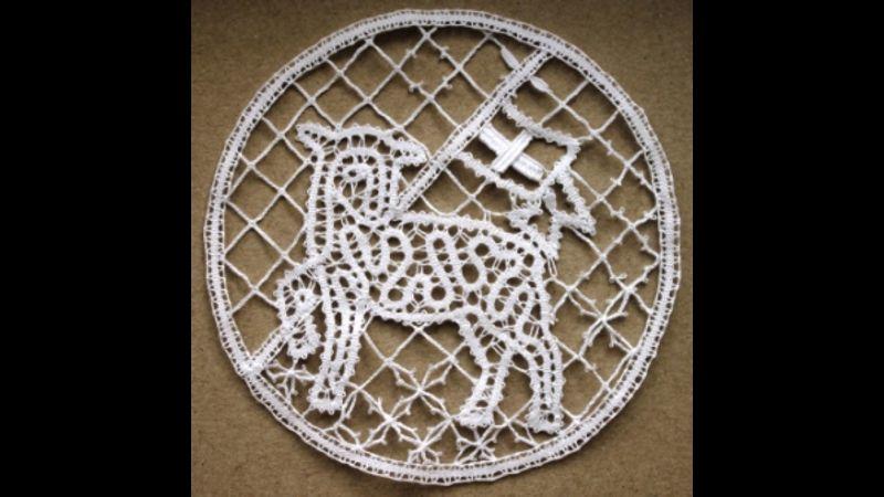 Idrija Lace - Easter Lamb